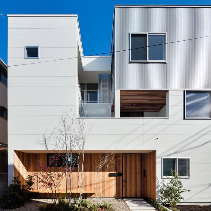 Casas estilo moderno: ideas, arquitectura e imágenes de 設計事務所アーキプレイス Moderno