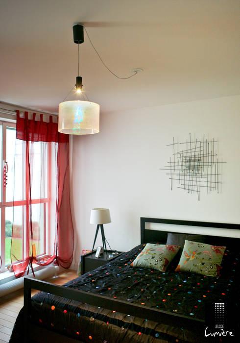 Chambre originale: Chambre de style de style eclectique par Jeux de Lumière