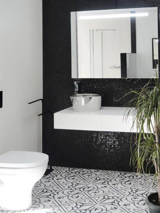 NEOCIM Patch Classic Noir homify BathroomDecoration Ceramic