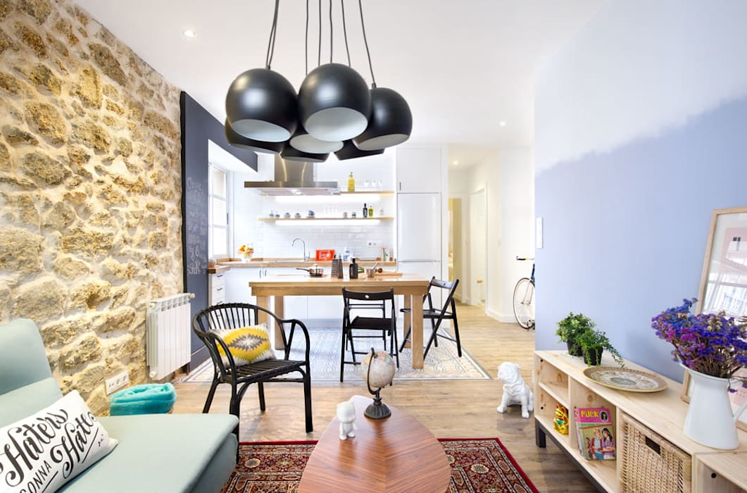 Modern Living Room by Egue y Seta Modern
