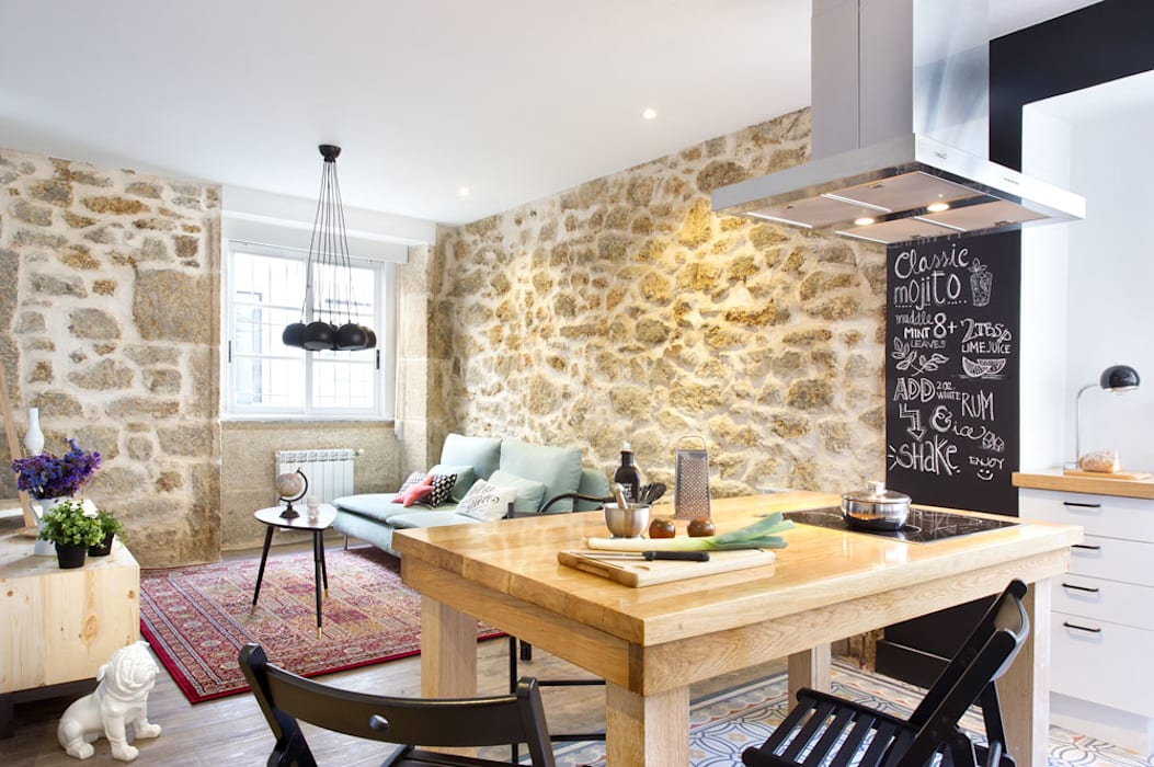 A Coruña for rent!: Comedores de estilo  de Egue y Seta, Moderno