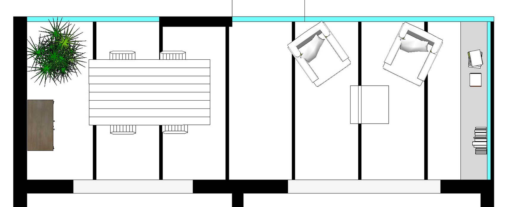 Notre proposition: Terrasse de style  par Mon Intérieur Sur Mesure (MISM)