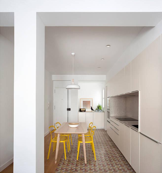 Cocina: reforma y diseño interior de apartamento en valencia ...