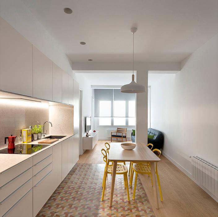 Cocina reforma y diseño interior de apartamento en valencia: cocinas ...