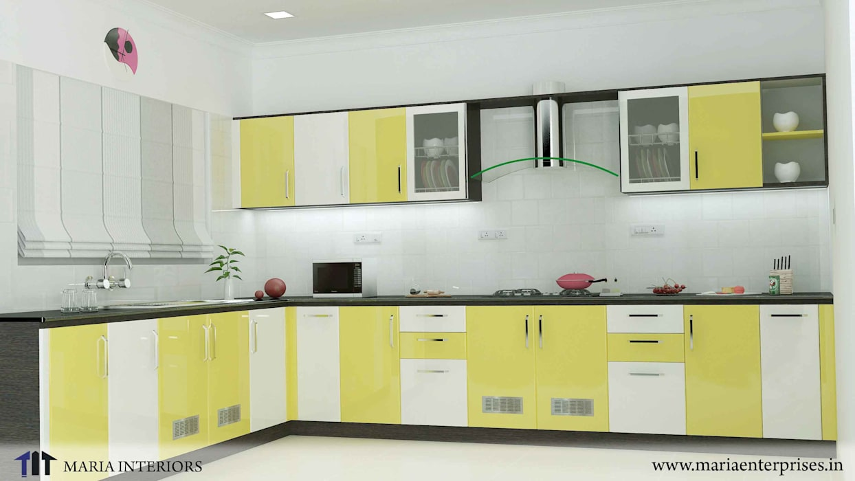 latest project in OTHARA Maria Enterprises KitchenKitchen utensils Engineered Wood Yellow