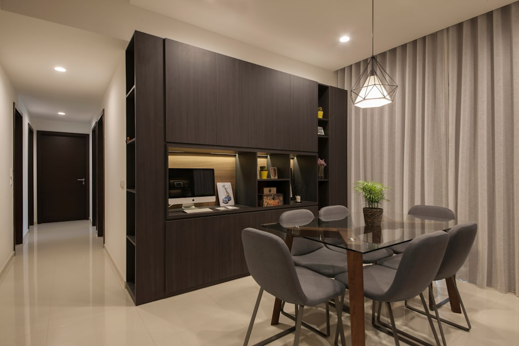 THE LIVIA Modern dining room by Eightytwo Pte Ltd Modern