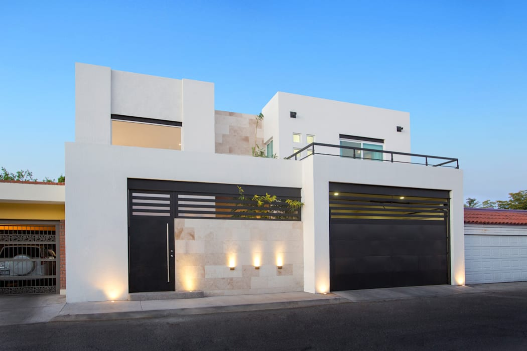 Maisons modernes par Grupo Arsciniest Moderne Marbre