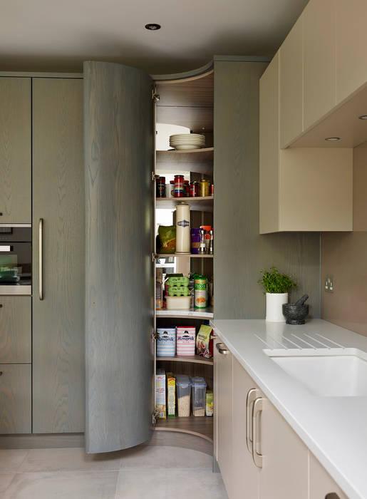 Linear | A Contemporary Kitchen Extension Davonport Cocinas de estilo moderno