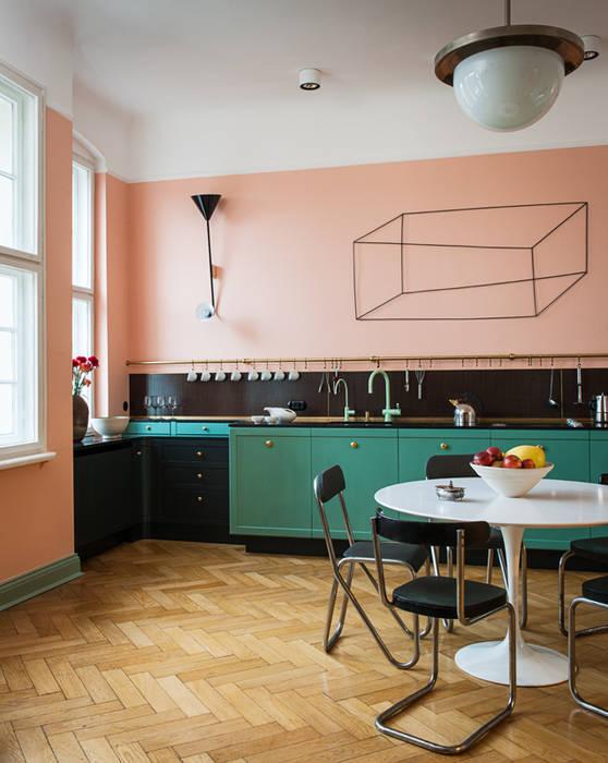 Cocinas de estilo  por Gisbert Pöppler Architektur Interieur, Moderno