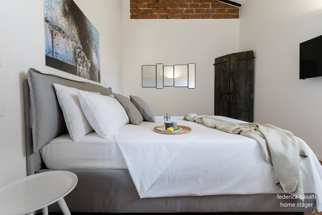 Phòng ngủ theo federica basalti home staging, Hiện đại