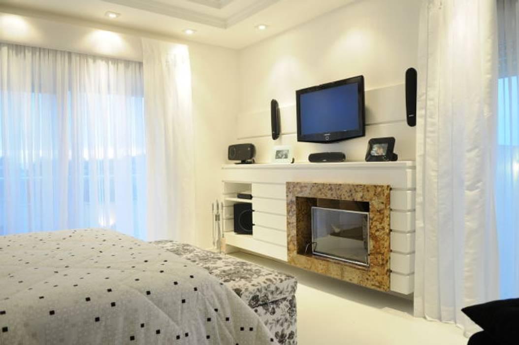 João Linck | Arquitetura Modern Bedroom