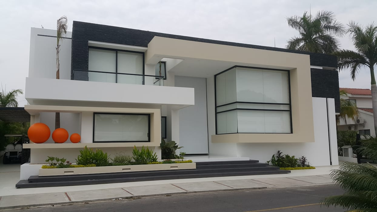Fachada Principal. Casas modernas de homify Moderno Concreto