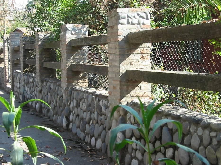 Paredes de estilo  por ALIWEN arquitectura & construcción sustentable - Santiago, Colonial