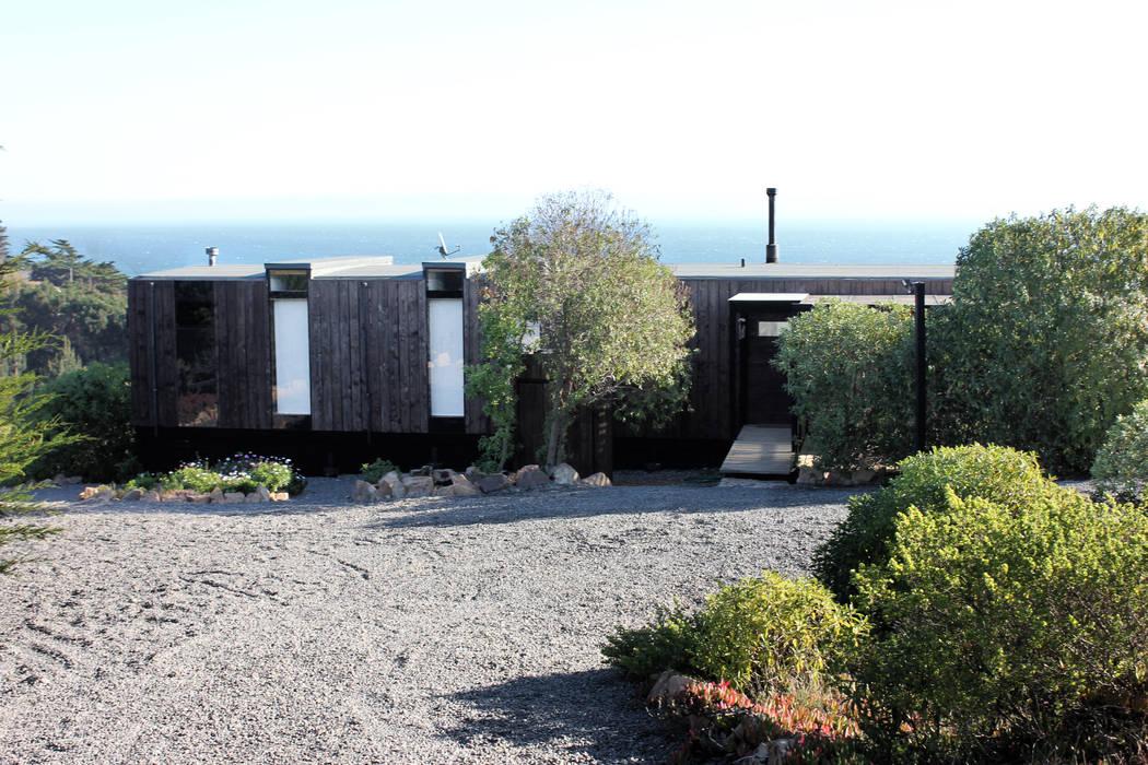 Fachada de ALIWEN arquitectura & construcción sustentable - Santiago Moderno