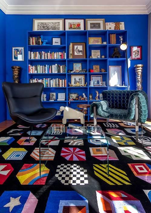 Phòng khách theo Elías Arquitectura,