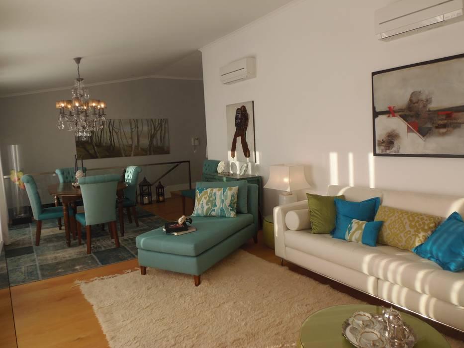 Decoração Caldas Salas de estar modernas por Obrasdecor Moderno