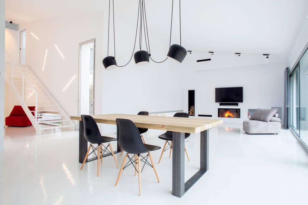 Salón Salones de estilo minimalista de CABRÉ I DÍAZ ARQUITECTES Minimalista