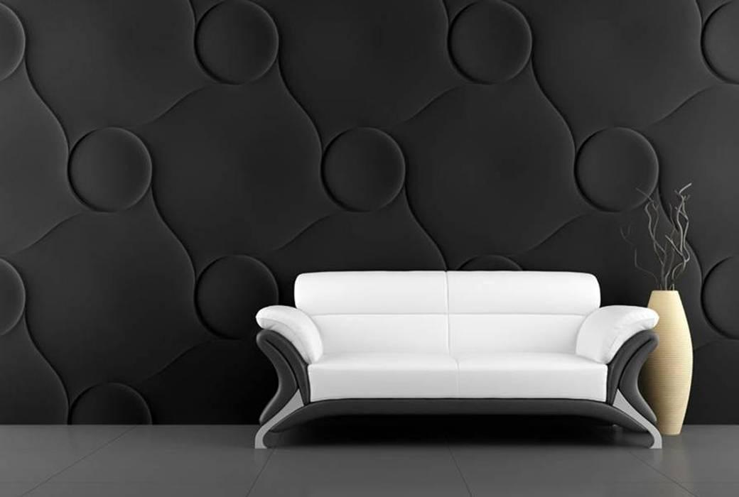 PANEL 3D: Paisajismo de interiores de estilo  por ENFOQUE CONSTRUCTIVO