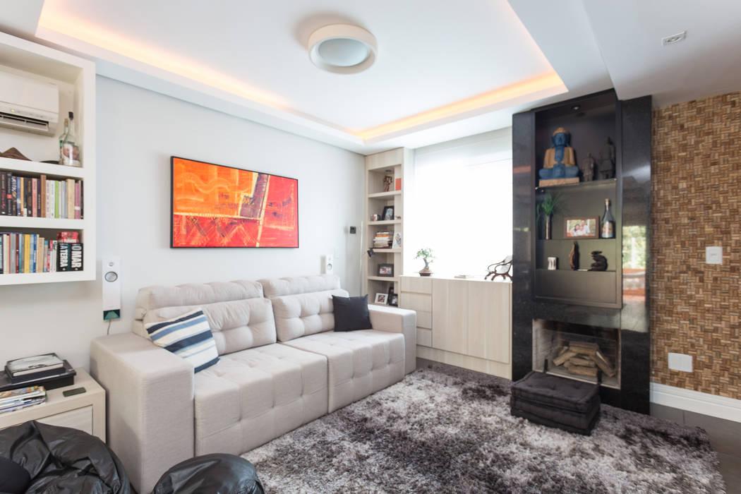SDV   Estar Kali Arquitetura Salas de estar modernas