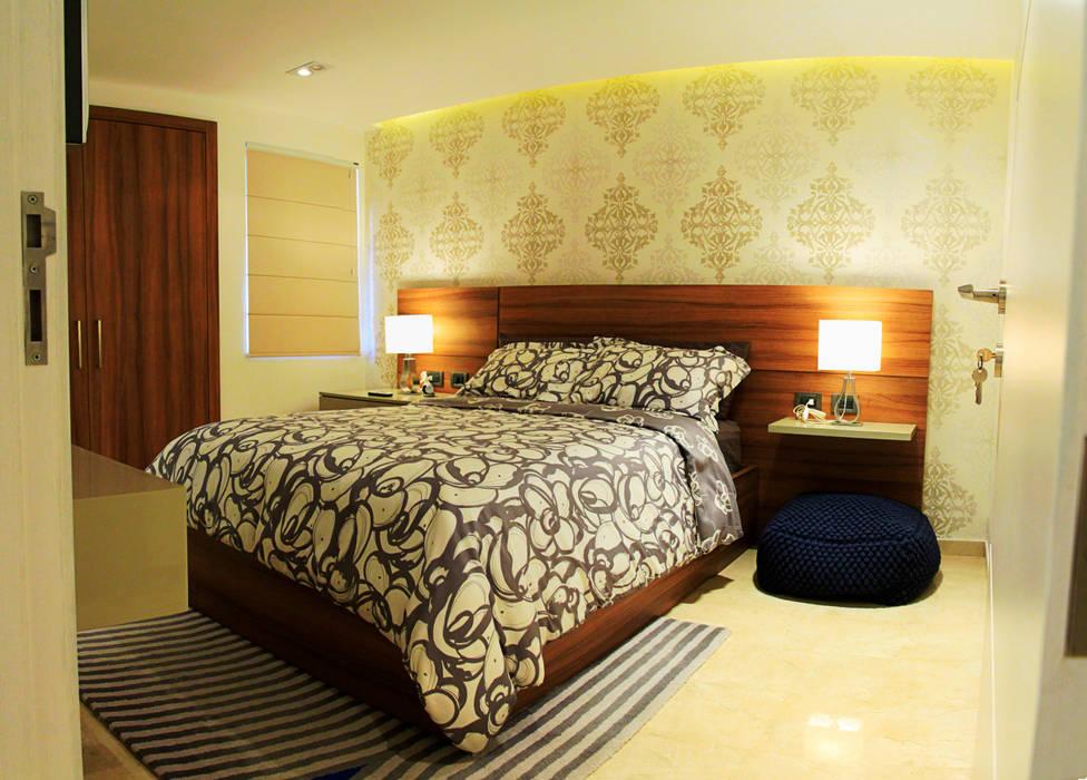 Dormitorios de estilo moderno de JAVC ARQUITECTOS S.C Moderno