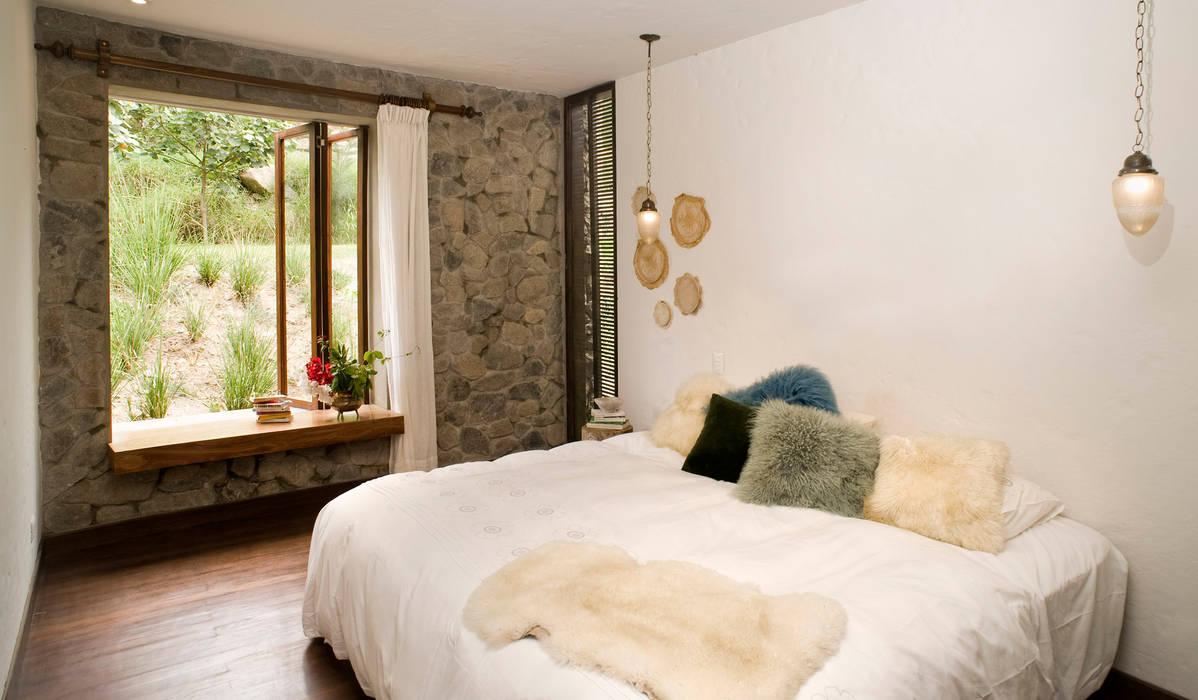 Casa Chontay Moderne Schlafzimmer von Marina Vella Arquitectura Modern