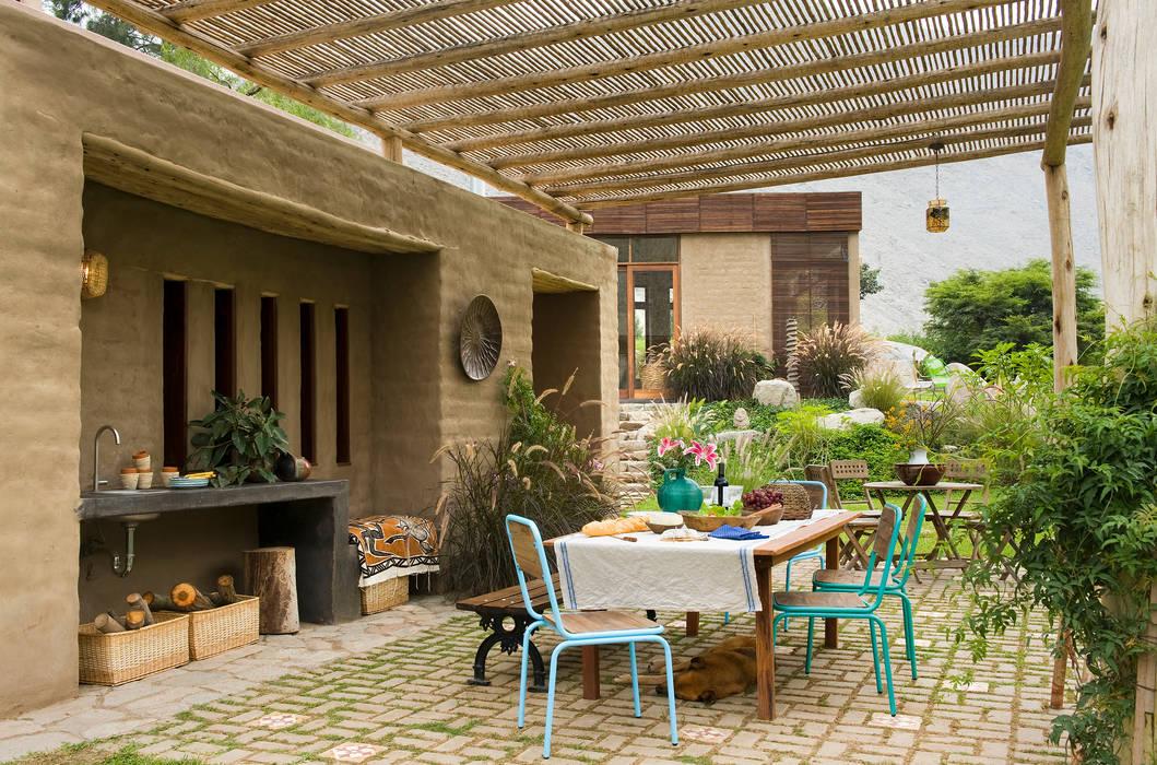 Casa Chontay Moderner Balkon, Veranda & Terrasse von Marina Vella Arquitectura Modern