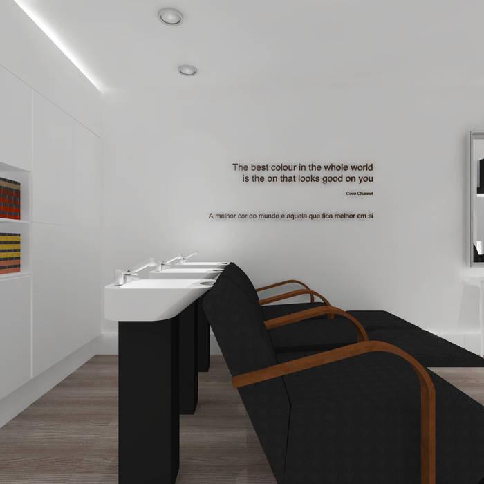 Atmosferas | Projecto de Interiores Paula Gouveia: Lojas e espaços comerciais  por  IDesign.art by Paula Gouveia