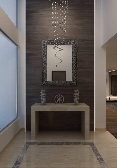BESSIE Asian style living room by Kuro Design Studio Asian