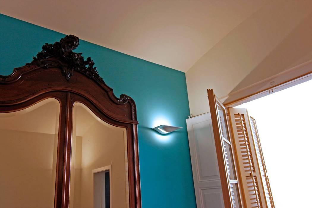 Detalle de Atres Arquitectes Mediterráneo Madera maciza Multicolor