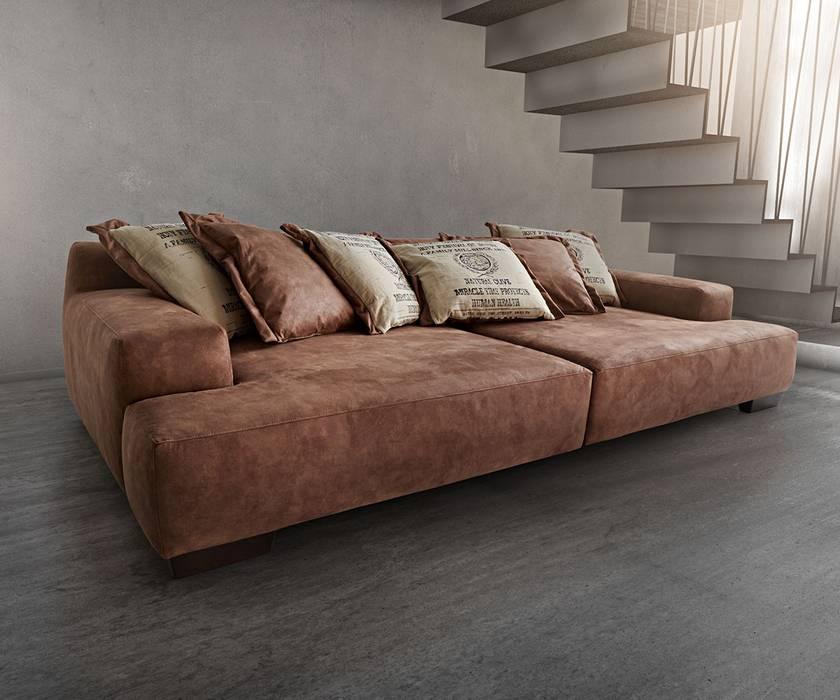 Big Sofa Cabana 304x140 Cm Braun Vintage Look By Ultsch