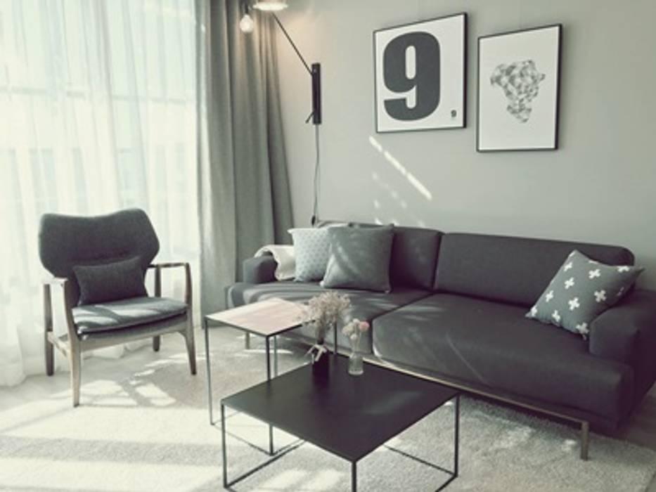 일산 홈스타일링 (Ilsan homestyling) Modern Living Room by homelatte Modern