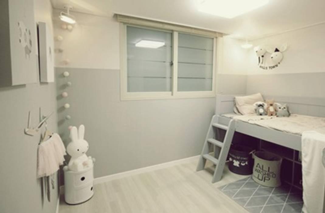일산 홈스타일링 (Ilsan homestyling) Modern Bedroom by homelatte Modern