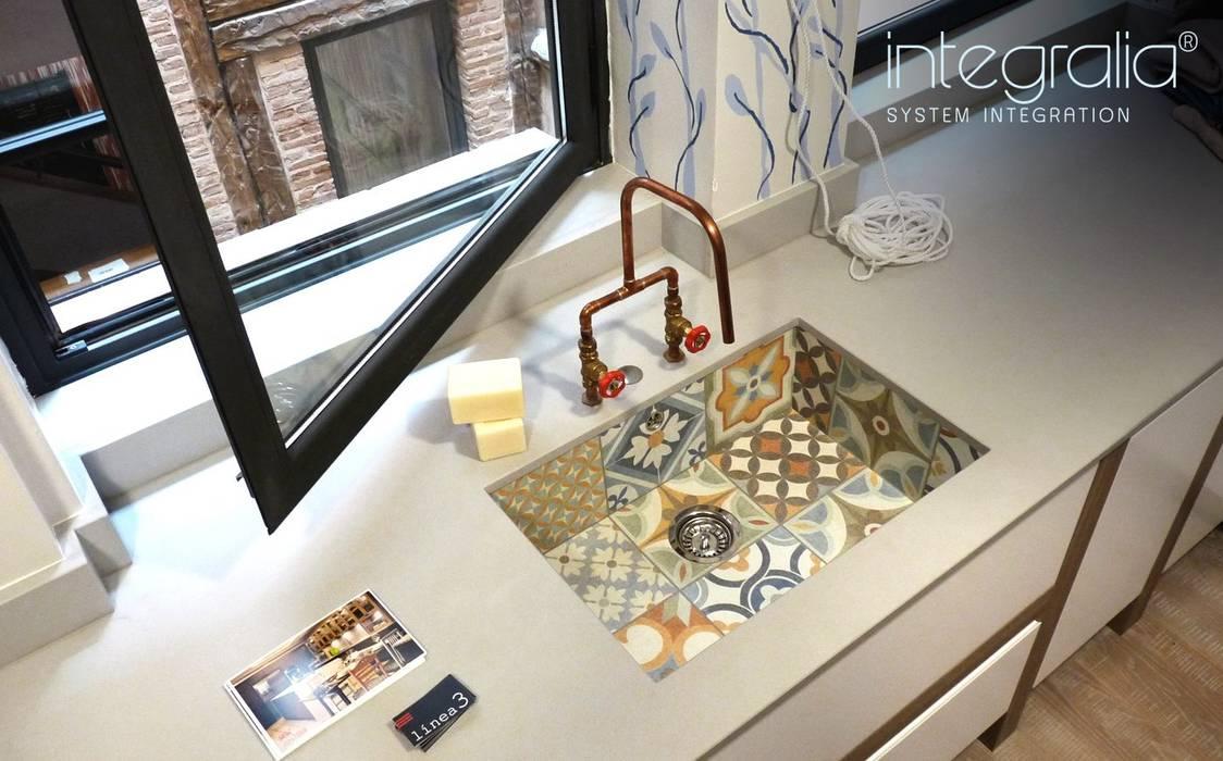 Galeria Кухня в стиле модерн от Milar Lobo Estudio Cocinas Модерн