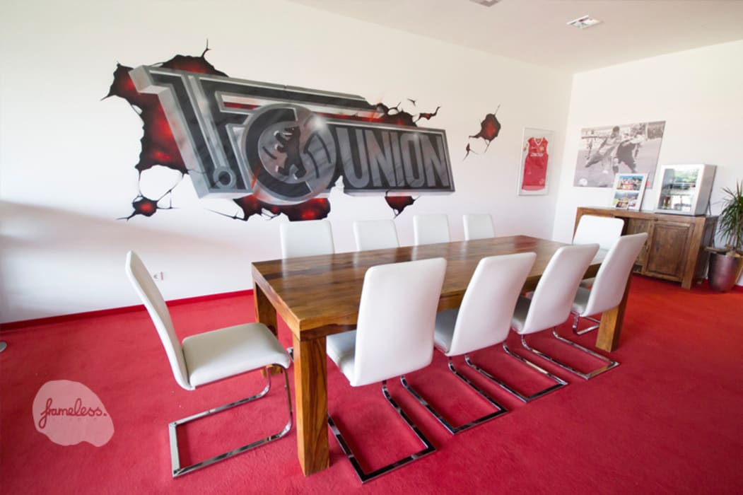 Estádios  por Graffiti und Wandmalerei | Frameless-studio UG