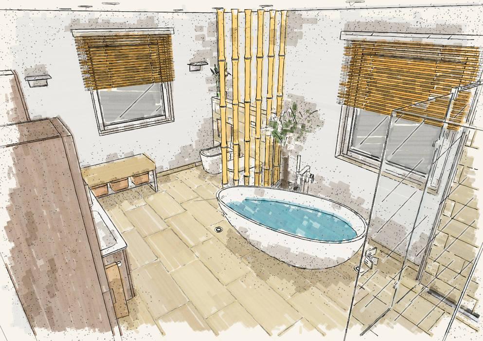 wellness-oase für zu hause moderne badezimmer von bad ...
