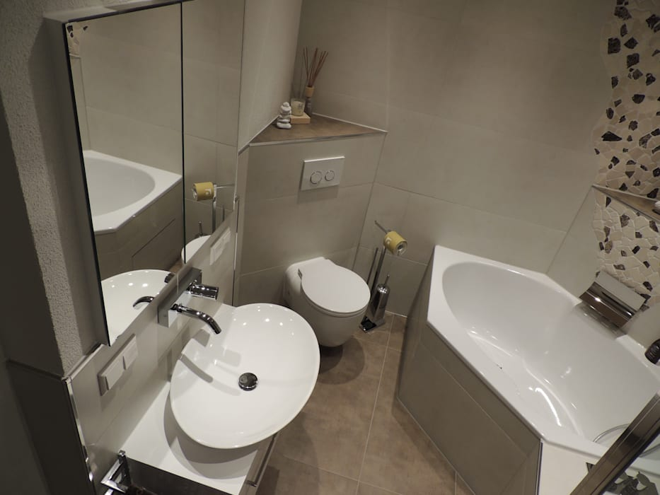 Wohlfühlbad Moderne Badezimmer von Bad Campioni Modern