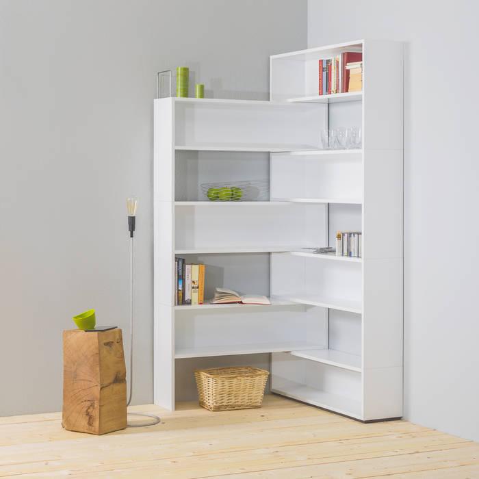 Eckhardt, das modulare eckregal vom spezialisten für eck-möbel noook ...