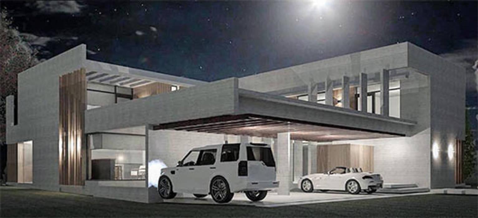 Casa A Casas modernas: Ideas, imágenes y decoración de FAARQ - Facundo Arana Arquitecto & asoc. Moderno Hormigón