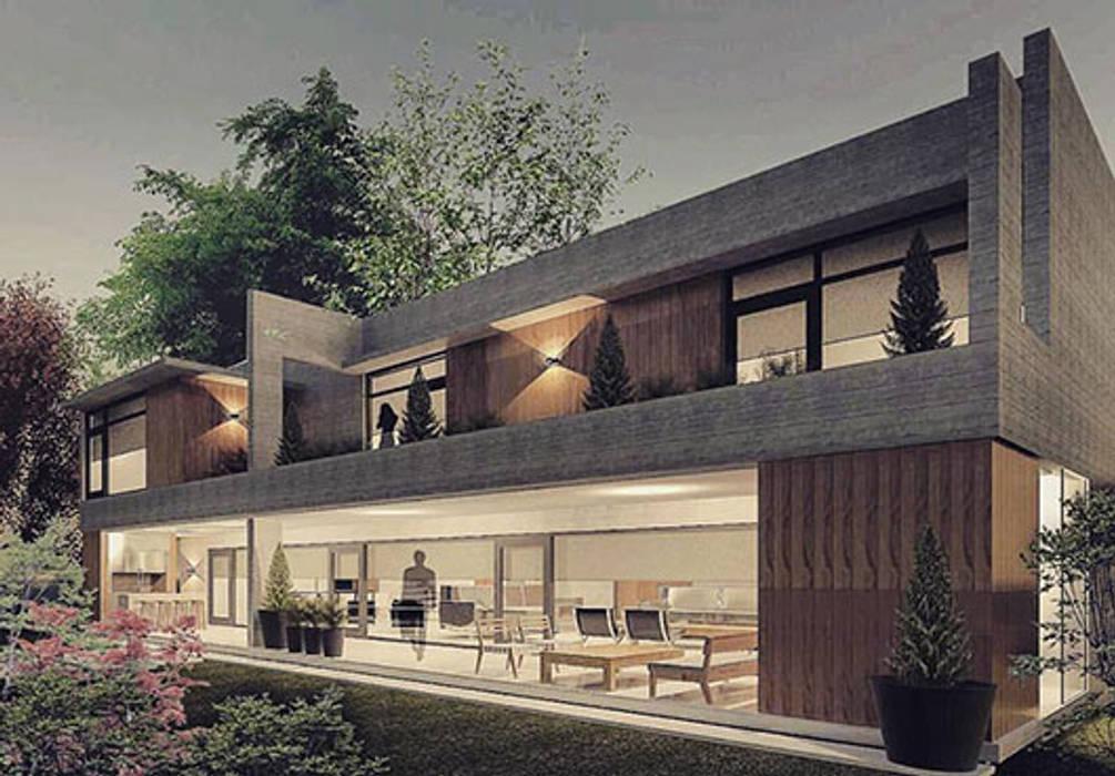 Casa A: Casas de estilo  por FAARQ - Facundo Arana Arquitecto & asoc.
