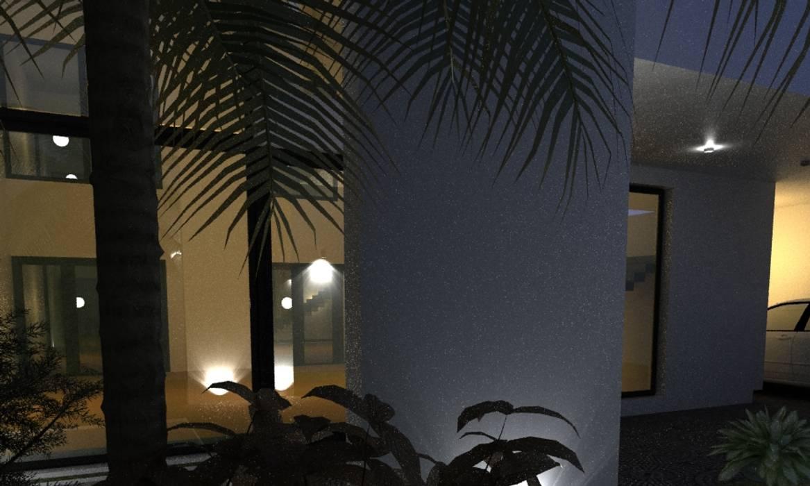 โดย JAPAZ arquitectura arte diseño โมเดิร์น ไม้ Wood effect