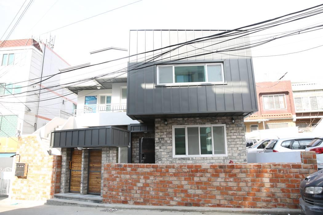 대구 죽전동 주택 인테리어 리모델링 (전원주택 ) 클래식스타일 주택 by inark [인아크 건축 설계 디자인] 클래식