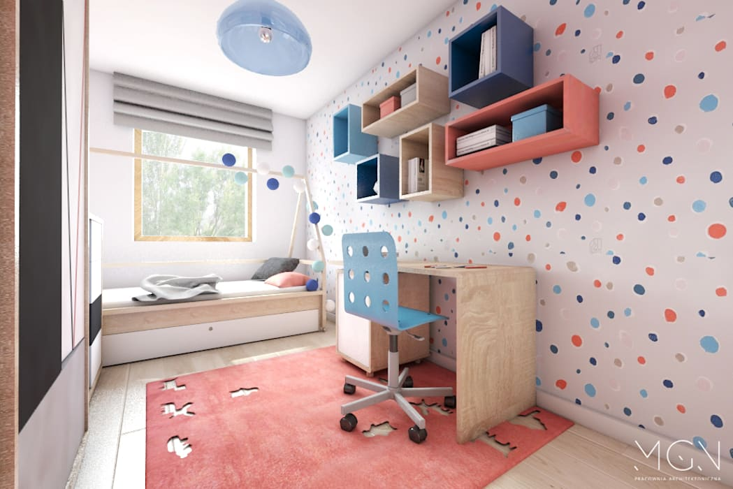 MGN Pracownia Architektoniczna Nursery/kid's room