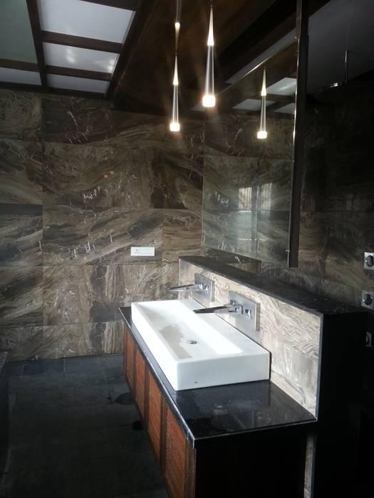 Mr.Sharma house Modern bathroom by homify Modern