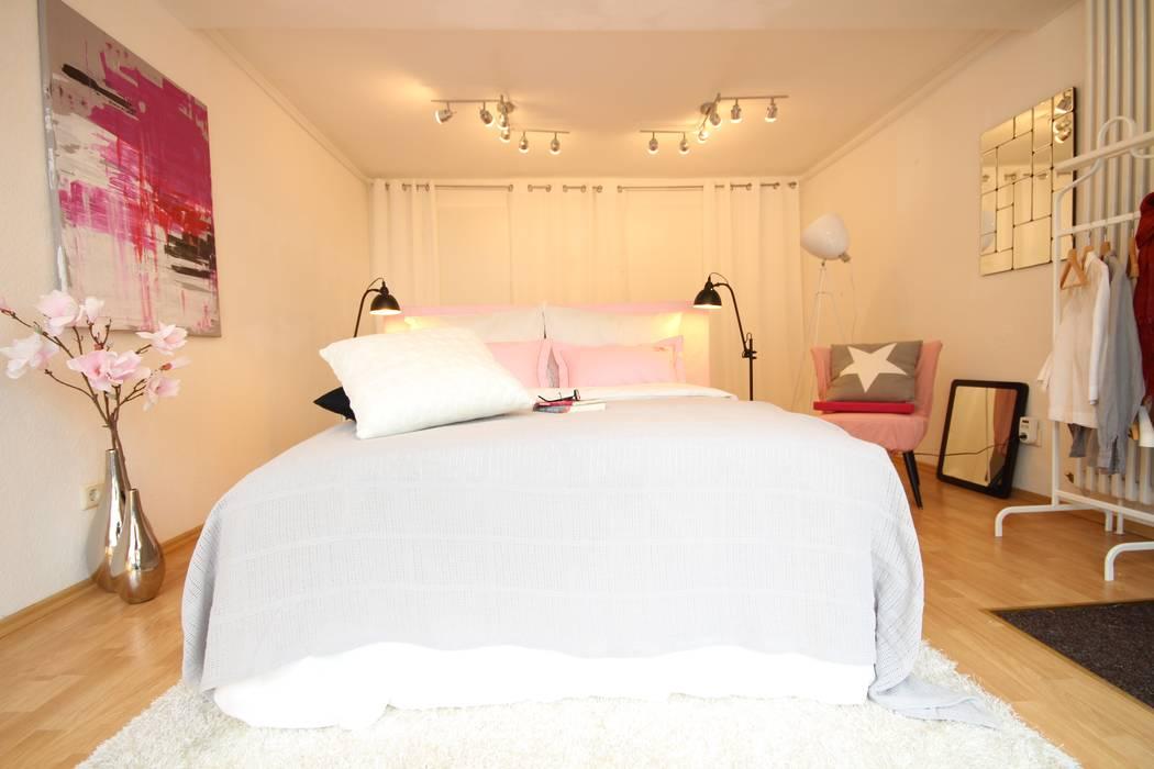 Schlafzimmer, rosa frühling: schlafzimmer von birgit hahn home ...