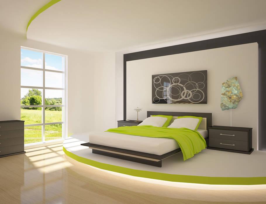 Minimalist bedroom by ALI-CURA Minimalist