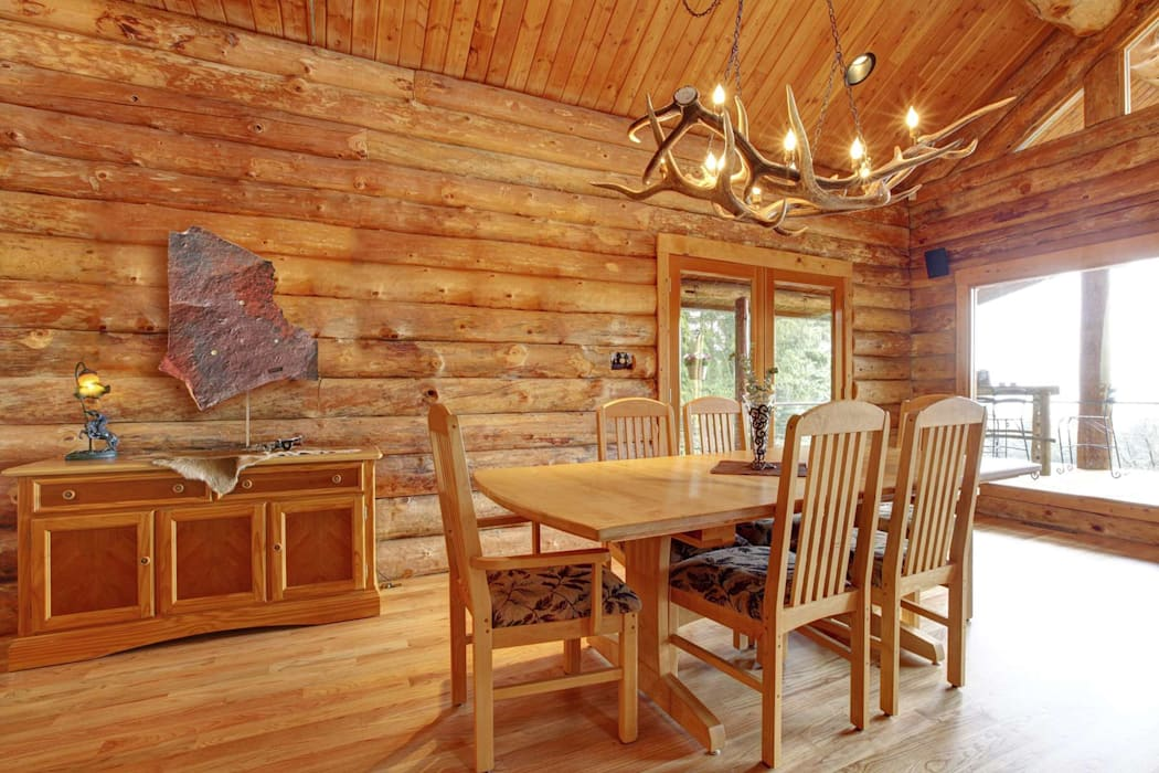 Country style dining room by ALI-CURA Country