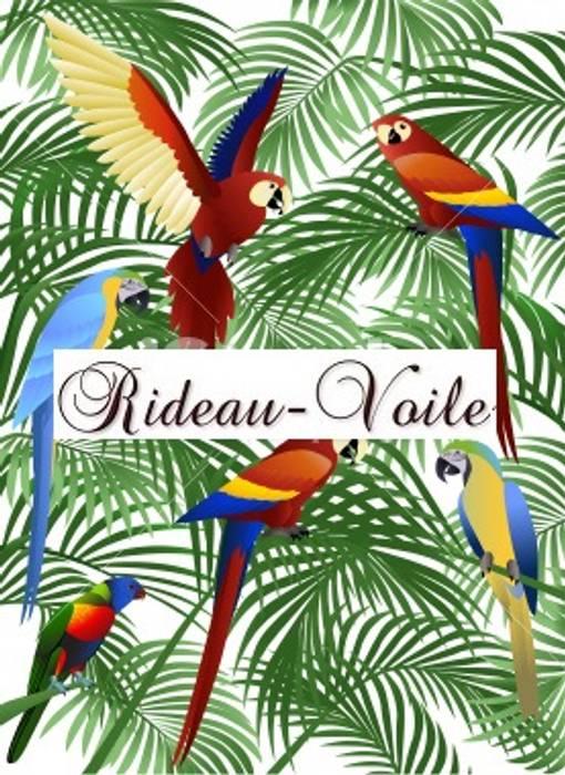 Style Exotique Foret Jungle Et Decoration Faune Tropicale Textile