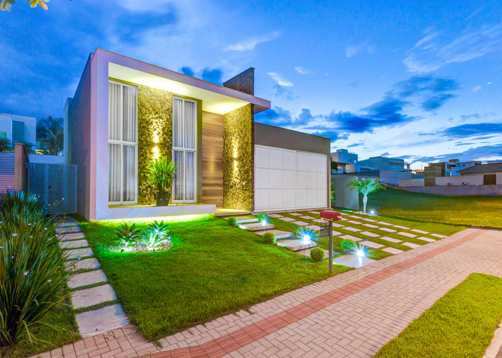 現代房屋設計點子、靈感 & 圖片 根據 Zani.arquitetura 現代風