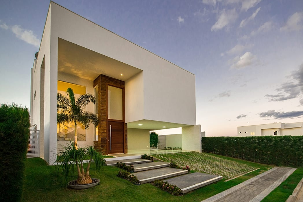 Casas de estilo  de Duo Arquitetura, Minimalista