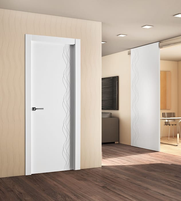 Puertas Castalla Windows & doors Doors Kayu White